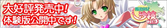『魔法少女沙枝Vol.3』10月29日発売です!